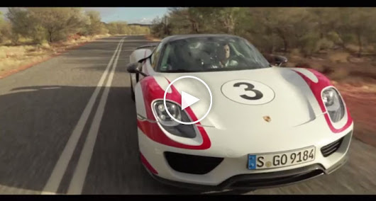 Porsche 918 Spyder Hits 217 MPH on Australia's 'Open Speed' Highway