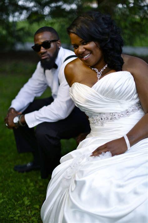 Sweet Black & White Wedding   The Big Fat African Wedding