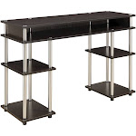 No Tools Student Desk Espresso - Johar Furniture