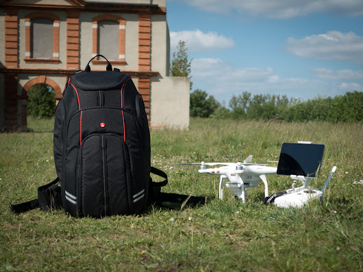 Manfrotto drone backpack : le test