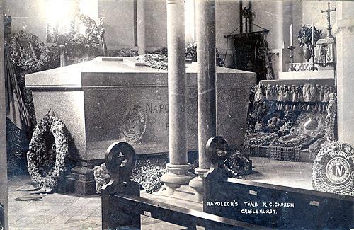 Image result for chislehurst catholic church Prince Imperial tomb