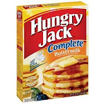 Hungry Jack Complete Buttermilk Pancake & Waffle Mix 32 Oz (Pack Of 12)