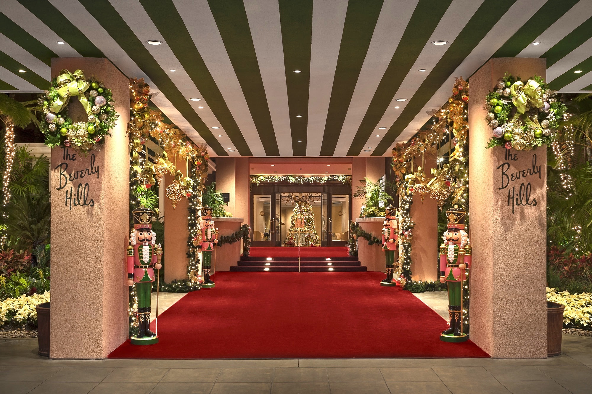The Beverly Hills Hotel Festive Holiday Package