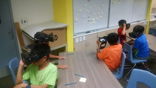 Virtual Reality Field Trips Come to Cupertino