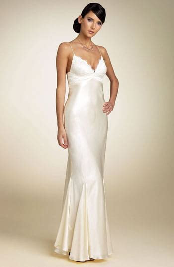 Mary L Couture Bias Cut Gown   Nordstrom
