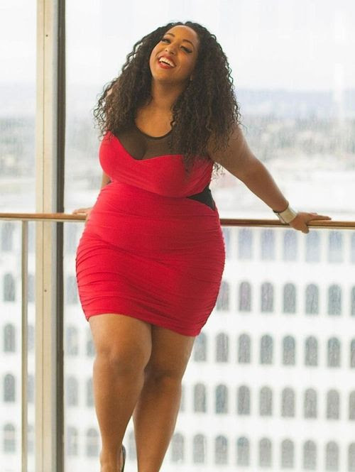 Red #fat #bbw #curvy #fullfigured #chubby #plussize #thick #beautiful #sexy