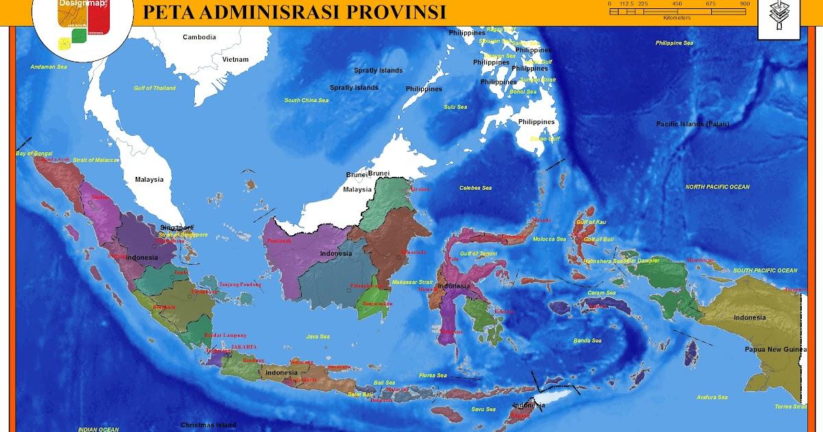 Peta Indonesia: Pengertian Peta Administrasi