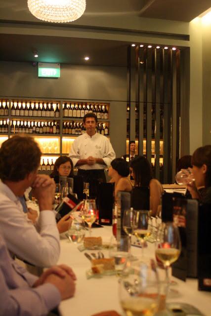 Chef Roberto Galetti of Garibaldi hosting dinner
