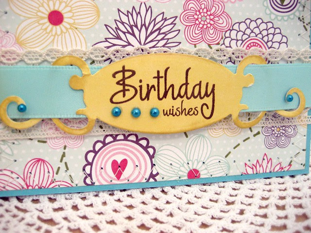 Butterfly Birthday Wishes label