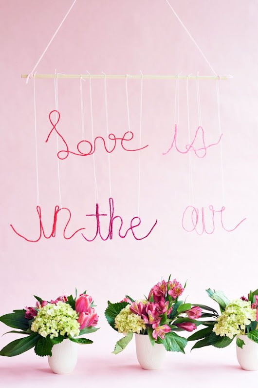#DESIGNTIME - LOVE IS IN THE AIR