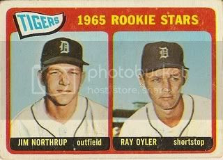 #259 Tigers Rookies: Jim Northrup and Ray Oyler