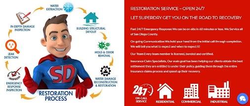 San Diego Water Damage Restoration Superdry | Superdry https://goo.gl/HJ3NNP  #sandiegowaterdamagere...