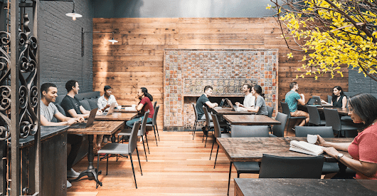 Restaurants embrace the coworking trend