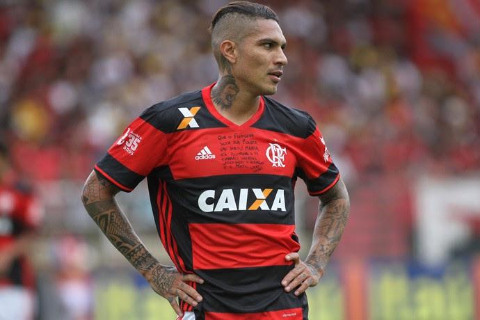 Guerrero - Fla x Sport (Foto: Gilvan de Souza/ Flamengo oficial)