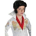 Rubies Costume Company Child Elvis Wig, Black