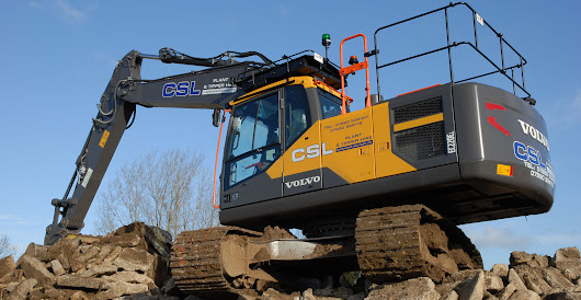 CSL's new Volvo EC220E delivered with a tinge of Gold