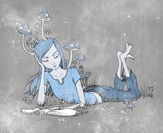 640x523_7011_Mushroom_Reader_2d_illustration_girl_book_reading_fantasy_mushrooms_picture_image_digital_art