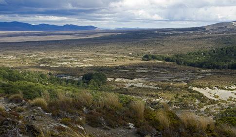 Waihonu Hut, Tongariro National Park, New Zealand