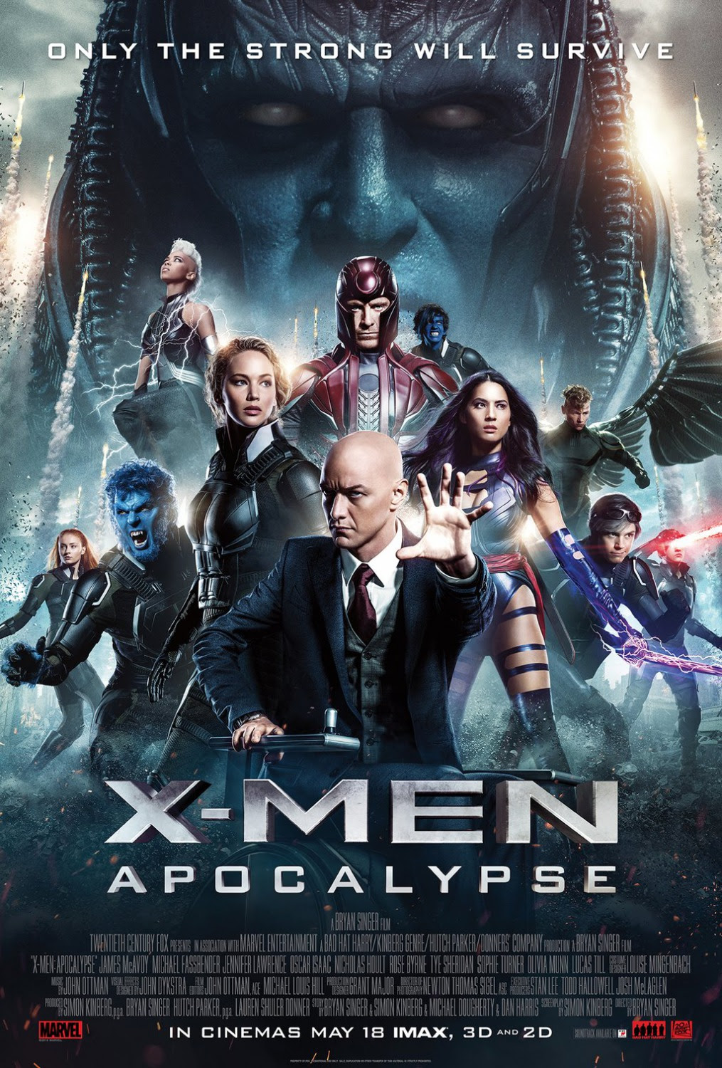 ... trailer on The Four Horsemen to X-Men: Apocalypse, which hits theaters