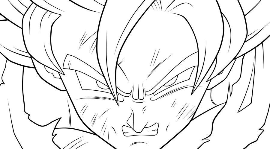 15 Desenhos Para Colorir Do Dragon Ball Z Super Sayajin 9