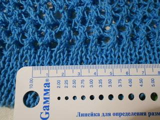 идеальная авоська плотность вязания