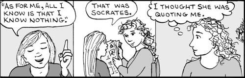 Home Spun comic strip #681