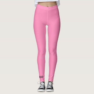 Pink Leggings (Size L)