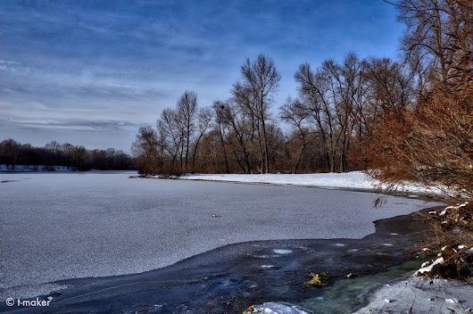 Thin Ice on the River