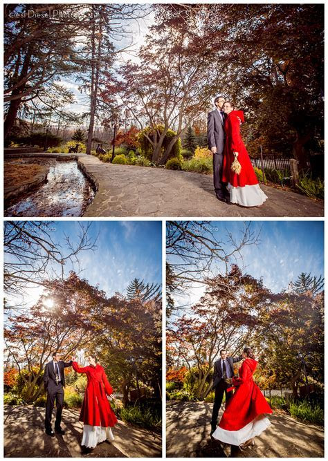 Fall Outdoor Wedding Jewish ceremony Western New York