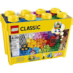 LEGO Classic Large Creative Bricks Kids 790 Piece Building Box Set | 10698 by VM Express