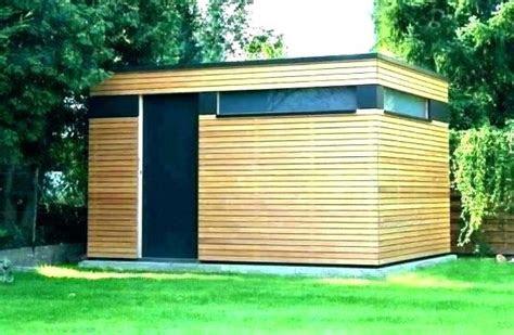 gartenhaus modern flachdach holz xm holzhaus  mm