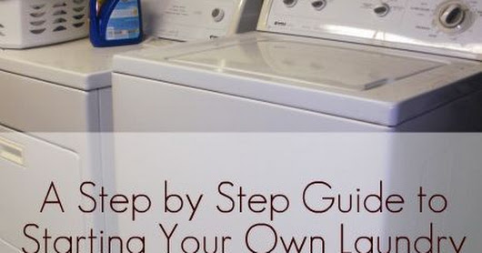 6 Steps to Starting Your Own Laundry Business from Home - Hall of Fame Moms | Ohio Blog | Laundry Hacks | Pinterest | Laundry, Business and Mom