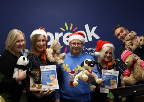 Member News: Hays Travel donate toys and gifts to Break