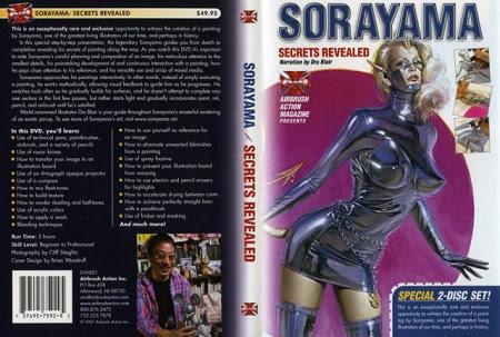 Sorayama Secrets Revealed Airbrsuh Action DVD