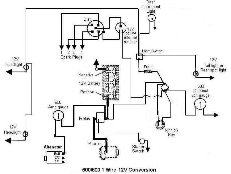 Wiring Diagram: 33 Ford 600 Tractor Parts Diagram