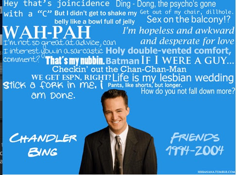 10 Best Chandler One Liners Of All Time
