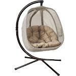 Flowerhouse Hanging Egg Chair - Bark