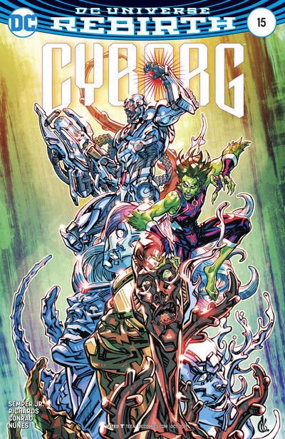 Cyborg #15 (D'Anda Variant Cover Edition)