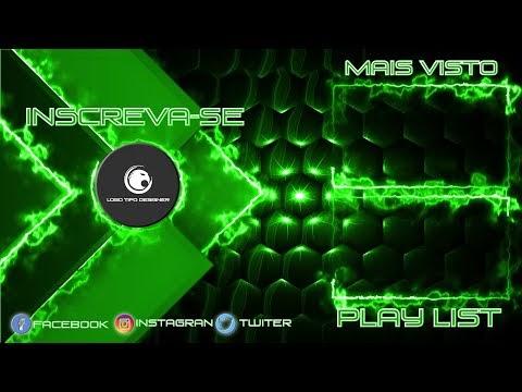 Tela Final #143 Editavel Logo Tipo Designer Tutorial no Final do vídeo
