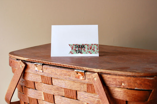 7 Free Printable Thank You Cards Because Sending An Email Isn't Always Appropriate
