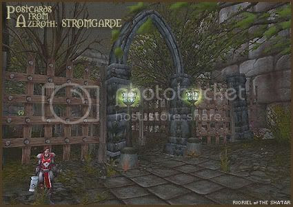 Postcards of Azeroth: Stromgarde, by Rioriel Ail'thera
