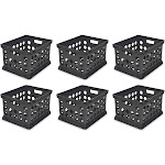 6) Sterilite 16939006 Plastic Heavy Duty File Crate Stacking Storage Containers at Spreetail (VMinnovations | VM Express)