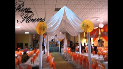 Nigeria Wedding Hall Decoration Pictures