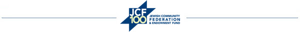 Jewish Community Federation, 100 years of giving...