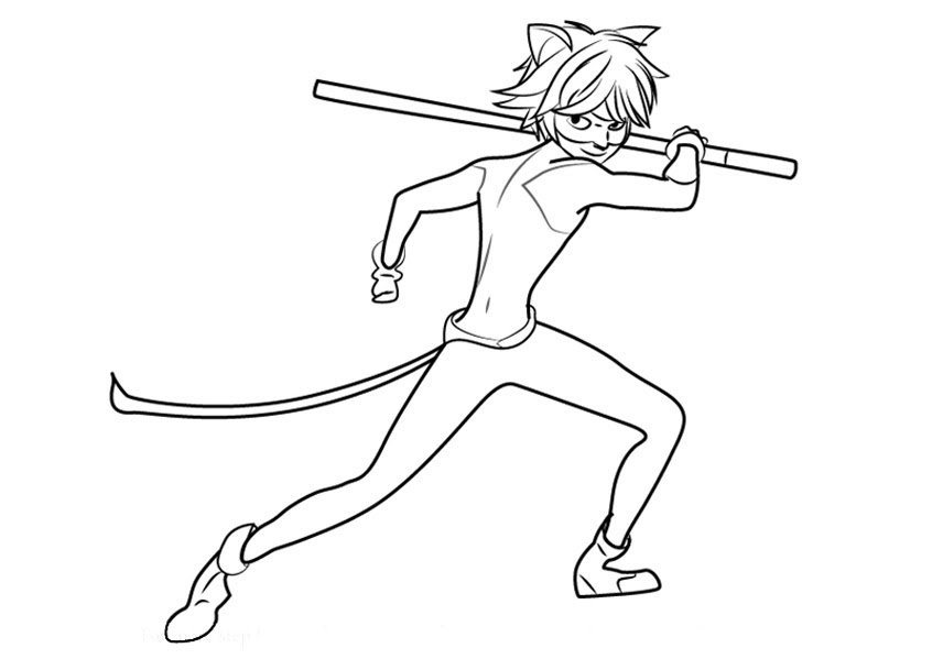 Ladybug And Cat Noir Coloring Pages to download and print ...