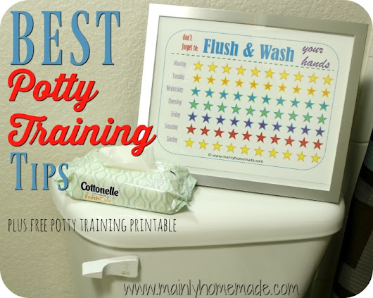 Best Potty Training Tips With FREE printable