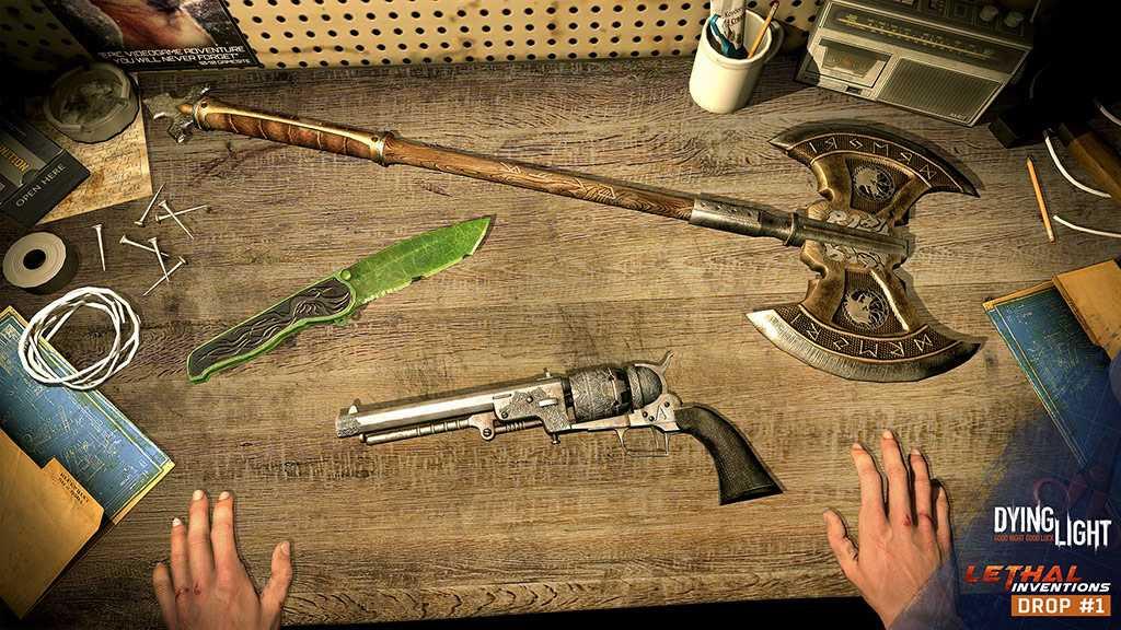 Dying Light Drop #1 Unique Weapons