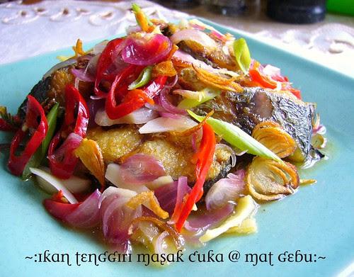 Ikan tenggiri masak cuka
