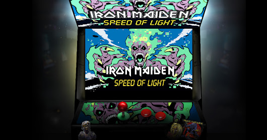 Iron Maiden - Speed Of Light Game