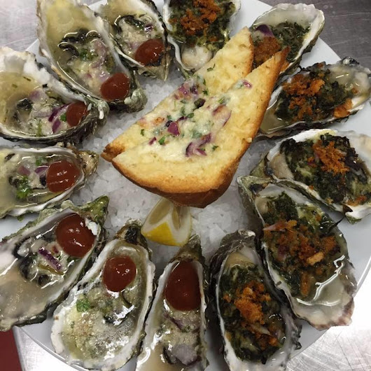 Happy Hour Oyster Menu 5/13/2016 - Healdsburg Golf Club